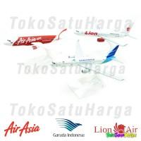 Diecast Pesawat Full Besi Aircraft   Air Asia   Garuda   Lion Air