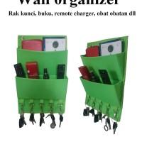 Jual Wall Organizer , Rak Kunci, Buku,Remote,Majalah Murah