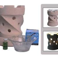 Lampu Hias Aromaterapi Listrik SJ109 PUTIH