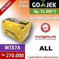 harga Aki kering/ ALL/ Minerva/ MTX7A MOTOBATT u/ Yuasa GS 7A Tokopedia.com