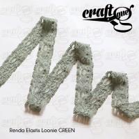 harga Renda Elastis Loonie Green (Roll) Tokopedia.com