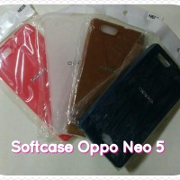 For Oppo Neo 5, Neo5 Softcase/Kondom HP Bahan Lentur