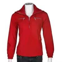harga Jaket Merah Katun Brand Ako New Tokopedia.com
