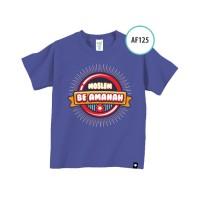 Kaos Afrakids AF 125 / Kaos Anak / Baju Anak Branded
