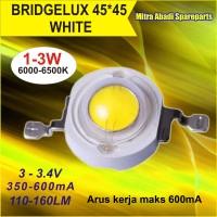 HPL 3W / High Power LED 3 Watt 45X45 Bridgelux Natural White