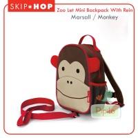 Skiphop Zoo Mini Backpack - Monkey/Marshall / Tas Sekolah Anak