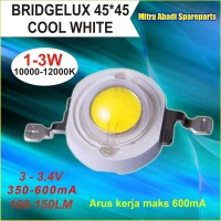 HPL 3W / High Power LED 3 Watt Bridgelux Cool White