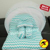Jual kasur bayi kelambu lipat/selimut topi/tas bayi/baju bayu/gendongan Murah