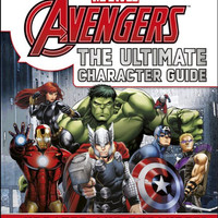 MARVEL AVENGERS The Ultimate Character Guide Book