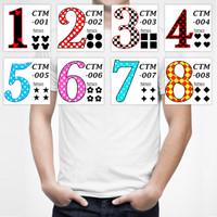 Custom / Ganti / Tambah Angka / Gambar DTG Kaos Baju Pakaian Distro