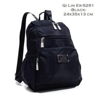 harga 5291 Tas Ransel QI Lin Er Original Bahan Parasut Kuat Cantik Tokopedia.com