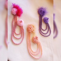 headpiece hijab / aksesoris jilbab / bross jilbab murah