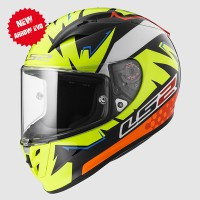 Helm LS2 FF323 Arrow Evo Isaac Vinales ringan with Tear off Post