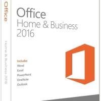 Microsoft Office Home & Business 2016 Original