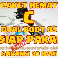 PAKET HEMAT C [DUAL BOOT OS] Raspberry Pi 3 Model B [GARANSI 30 HARI]