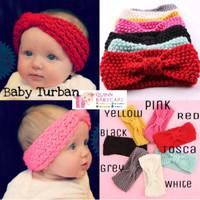 Headband Anak Baby Turban Crochet / Bando Anak Bayi Turban Crochet