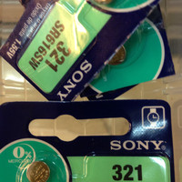 Button Cell - Sony - 321 (SR616SW)