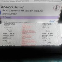 Jual ROACCUTANE 10MG ORIGINAL ROCHE TURKI (1 STRIP) Murah