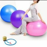 bola yoga bola fitnes olahraga wanita langsing balon fre pompa kasur