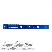 Rep Tamiya 95073 Setting Gauge / Pengukur Ketinggian Blue (TL812)