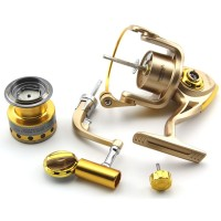 SWAGG HF3000 Metal Cup Carp Fishing Reel (Gold)