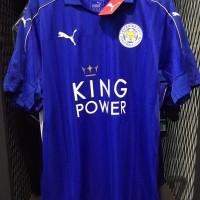 harga Jersey Original Leicester City Home Season 2016/2017 Tokopedia.com