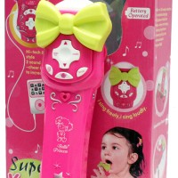 Jual Mainan untuk anak Microphone Super Karaoke mic mikrofon standing mic Murah