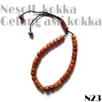 Gelang tangan kayu/buah koka, kokka, fuqoha Asli turki N23