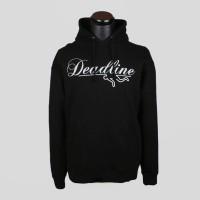 Hoodie Sweater Dead Line - Hitam - Zemba Clothing