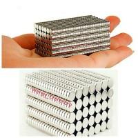 Jual mini magnet kulkas kualitas super kuat bahan craft aksesoris clay Murah