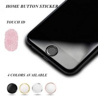 Spareparts Iphone Aluminum Touch ID Home Button Sticker