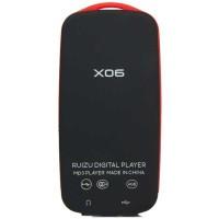 Ruizu X06 Bluetooth HiFi DAP MP3 Player 4GB - Red Murah