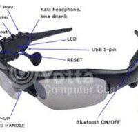 MP3 Sunglasses With Bluetooth (Kacamata MP3 + Bluetooth Murah