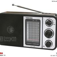 TOSHIBA TY-HRU30 8 BANDS PORTABLE RADIO WITH MP3 PLAYER Murah