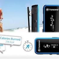 Transcend MP3 350 Sport / Anti Shock 8 Gb Garansi Resmi Diskon