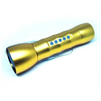 Multifunction LED Flashlight With MP3 Player Support TF Diskon