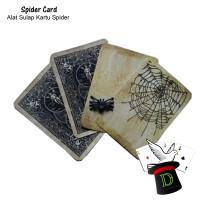 Spider Card   Alat Sulap   Joke   Dimen Shop