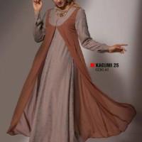 Busana muslimah gamis dewasa baju muslim Ethica kagumi 25