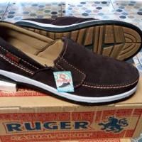 harga Sepatu Casual Ruger Kulit Sapi Asli Coklat Tokopedia.com