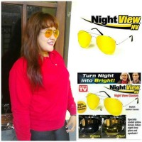 Kacamata Anti Silau Night View Glasses Vision As Seen On Tv