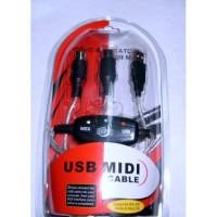 Kabel Usb to Midi Converter