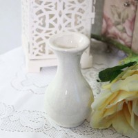 Vas Pot Bunga Guci Kendi Keramik / Gucci Jar Jug Shabby Chic Kecil