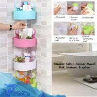 harga Rak Dinding Tempat Sabun Tempat Shampoo Rak Sudut Kamar Mandi Tokopedia.com