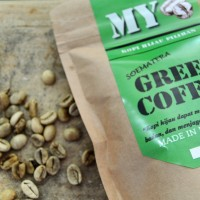 green coffe bean / kopi hijau natural/ alami kaya antioksidan 225gr
