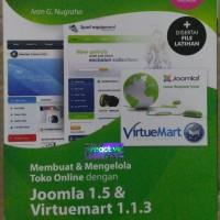 CD tutorial membangun & mengelola toko online dg joomla & Virtumart