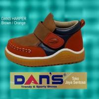 Sepatu Anak Dans Harper Brown/orange