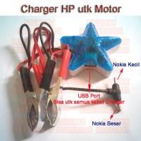harga Charger HP Aki Motor | motorbike Accu mobile phone charger Tokopedia.com