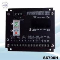 S 6700 H Speed Control Genset