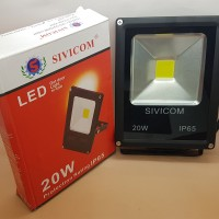 harga Sivicom Floodled 20w / Led Sorot Waterproof Ip65 (tipis) / Lampu Sorot Tokopedia.com