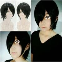 Wig Base Sasuke Uchiha Akatsuki Naruto Anime Cosplay KUCOS